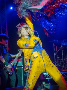 Yeah Yeah Yeahs performs at the NPR Music 2013 SXSW Showcase at